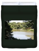 Central Park Lake Duvet Cover