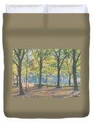 Central Park New York Duvet Cover