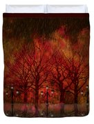 Central Park Ny - Featured Artwork Duvet Cover