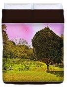 Central Park Sunday Duvet Cover