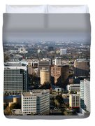 Central San Jose California Duvet Cover