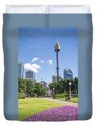 Central Sydney Park In Australia Duvet Cover