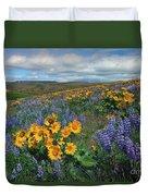 Central Washington Spring Duvet Cover