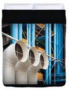Centre Pompidou Duvet Cover