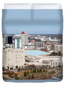 Century II Convention Hall And Hyatt Duvet Cover