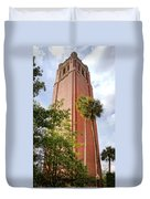 Century Tower Duvet Cover by Joan Carroll