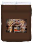 Ceramic Pillars Duvet Cover