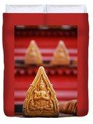 Ceramic Prayer Duvet Cover
