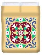 Ceramic Tile Closeup Duvet Cover