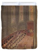 Ceremony Of Ordination At Lyon Cathedral Duvet Cover