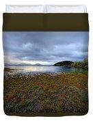Cerknica Lake Duvet Cover