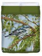 Cerulean Warbler Duvet Cover