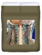 Cervical Spinal Cord, Posterior View Duvet Cover