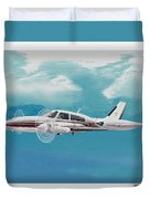 Cessna 310 Twin Engine Duvet Cover