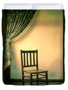 Chair And Curtain Duvet Cover