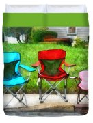 Chair Family Duvet Cover