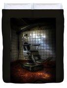 Chair Of Horror Duvet Cover