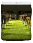 Chairs And Memories Duvet Cover
