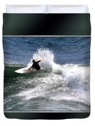 Challenge Yourself-surf Duvet Cover