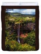 Chamarel Waterfall 1. Mauritius Duvet Cover