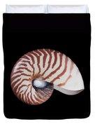 Chambered Nautilus Duvet Cover