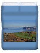Chambers Bay Golf Course - University Place - Washington Duvet Cover
