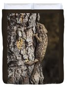 Chameleon Climbing Duvet Cover