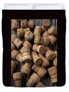 Champagne Corks Duvet Cover