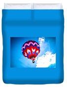 Champion Hot Air Balloon Duvet Cover