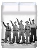 Champion Police Shooters Duvet Cover