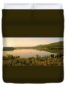 Champlain Viewed From Ticonderoga Duvet Cover