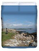 Chandler Hovey Park Marblehead Massachusetts Duvet Cover