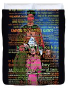 Chang The Chinese Giant - Human Carnival Sideshows And Other Oddities Of The World 20130626 Duvet Cover