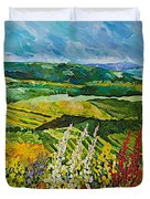 Change Is In The Air Duvet Cover