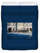 Changing Of The Horse Guard  Duvet Cover