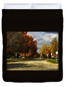 Changing To Fall Colors In Dwight Il Duvet Cover