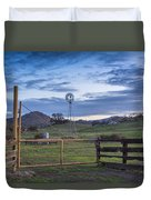 Changing With The Wind Duvet Cover