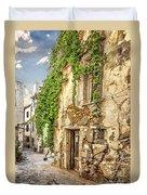 Chania Old Street Duvet Cover