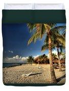 Chankanaab Beach Duvet Cover