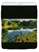 Chankanaab Mexico Lagoon Duvet Cover
