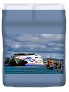 Channel Islands Ferry Duvet Cover