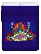 Chaos Of Unrealized Ideas Duvet Cover