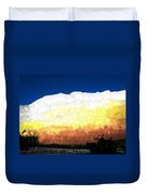 Chaparra Supercell At Sunset Duvet Cover