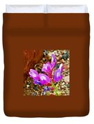 Chaparral Pea In Painted Desert Of Petrified Forest National Park-arizona  Duvet Cover