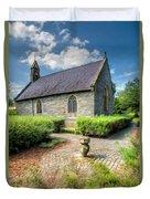 Chapel 17th Century  Duvet Cover