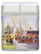Chapel And Hall  Lincoln's Inn Duvet Cover