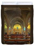 Chapel At Notre Dame Cathedral Verdun Duvet Cover