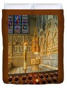 Chapel At Saint Patricks Cathedral Duvet Cover