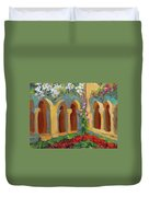 Chapel At St. Remy Duvet Cover