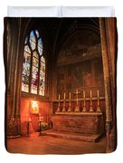Chapel In St Severin Church Paris Duvet Cover